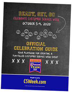 The Organizer's Guide plus quick tips and the celebration checklist provide 77 ways to celebrate Customer Service Week.