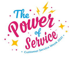 Official Customer Service Week Logo